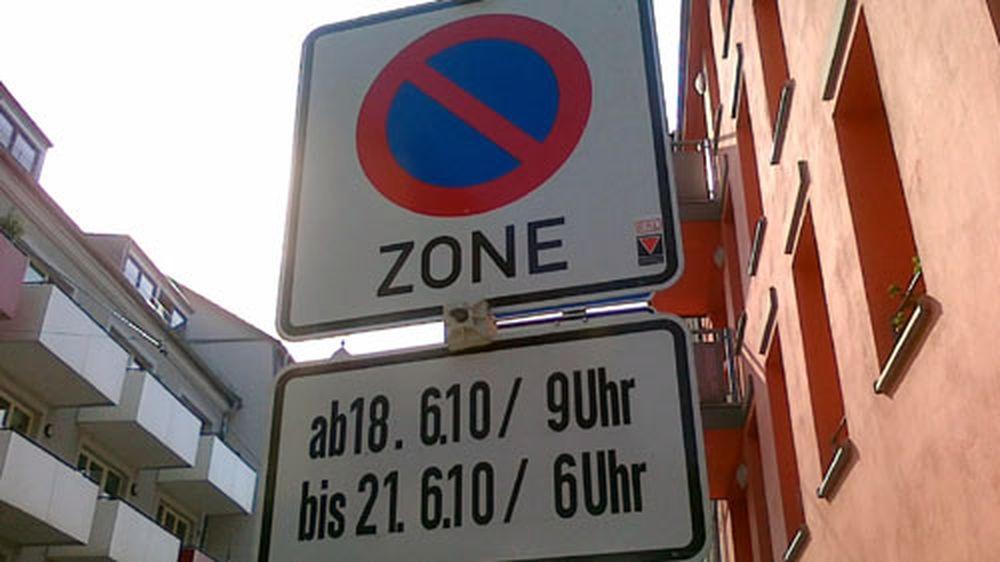 Zur BRN gilt wieder Parkverbot - wer es vergisst wird abgeschleppt
