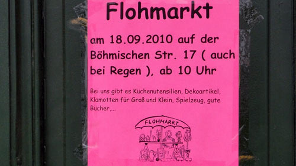 Flohmarkt am 18. September