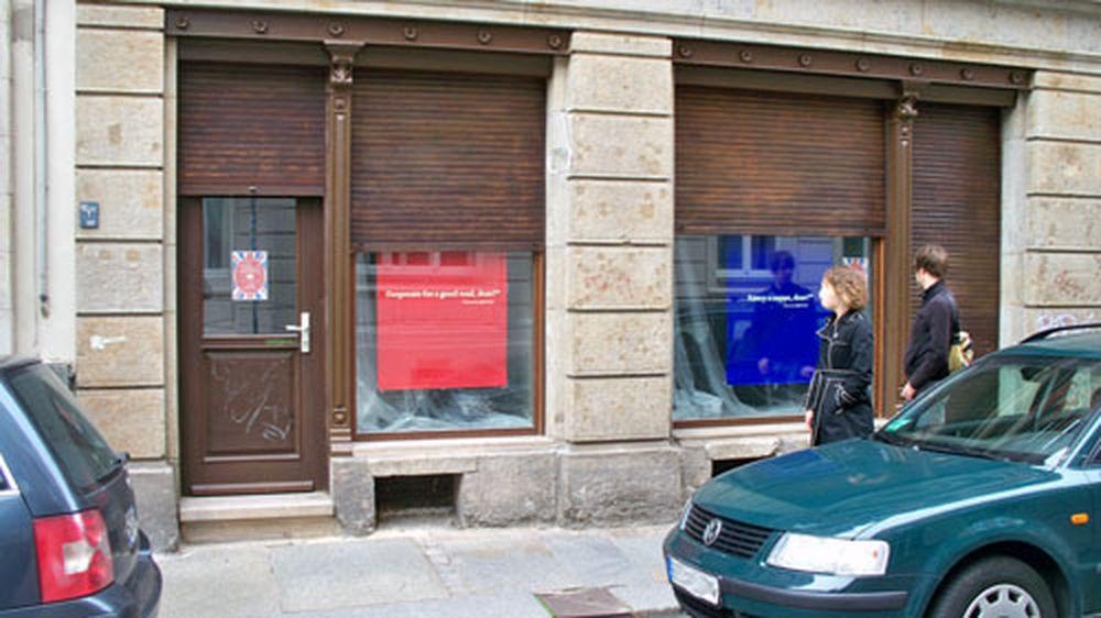 Für den Laden an der Lutherstraße wird Personal gesucht - anklicken zum Vergrößern.