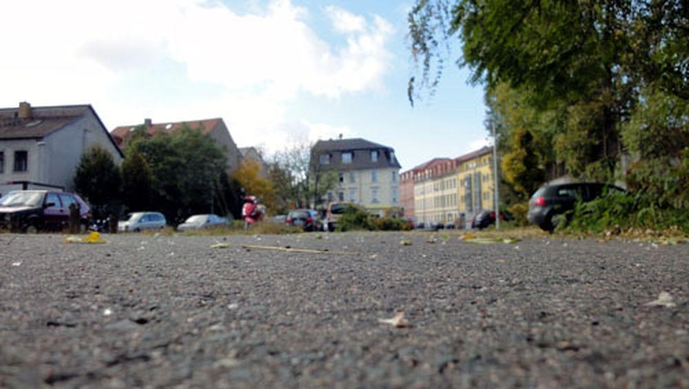 Bald ist es vorbei für den Parkplatz an der Alaunstraße.