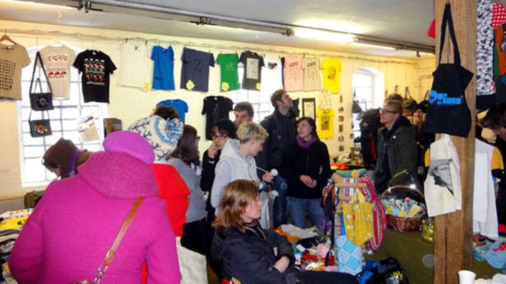 Im vergangenen Jahr residierte das T-Shirt-Festival  in der Blauen Fabrik.