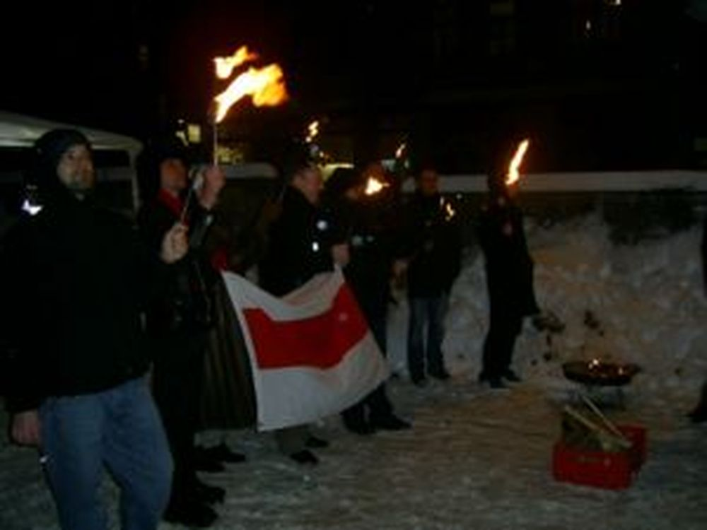 Solidarität mit Minsk