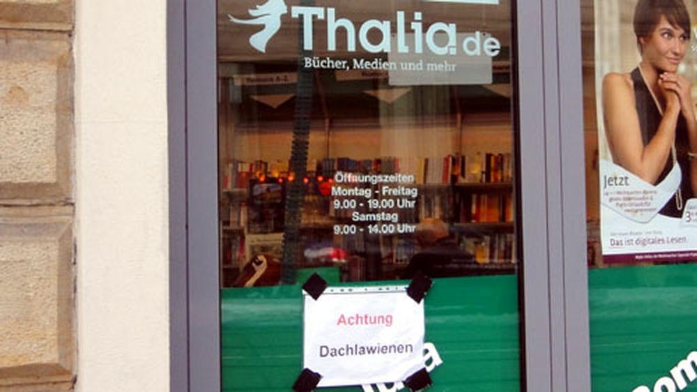 Gesehen an der Thalia-Buchhandlung.