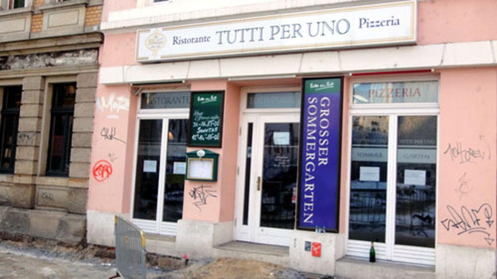 Später gab es hier Pizza und Pasta