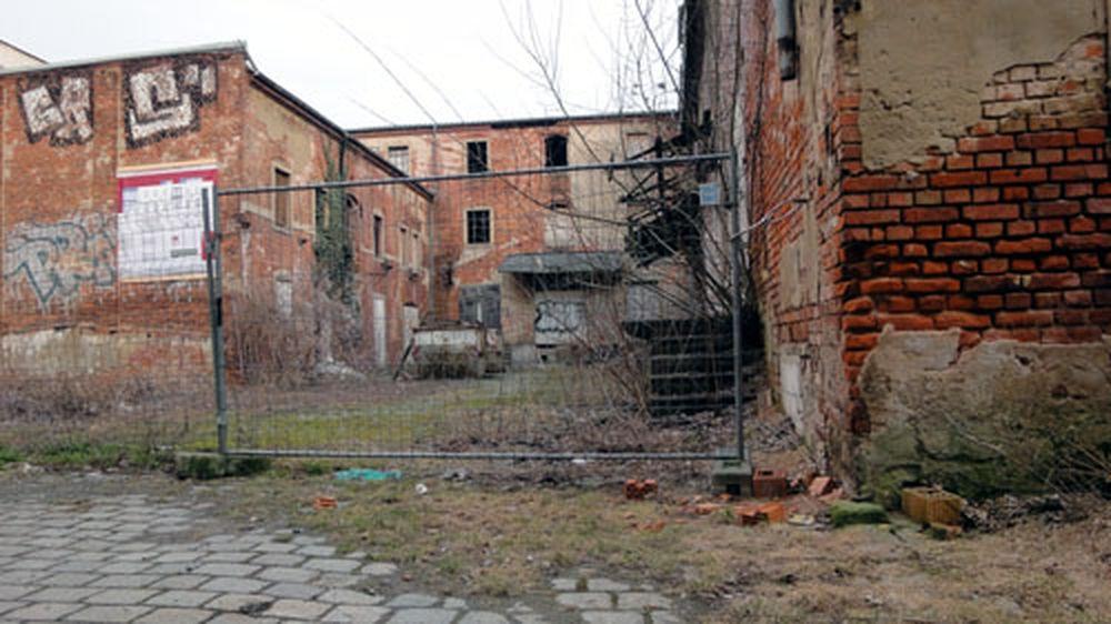 Sanierung des alten Fabrikgeländes steht bevor.