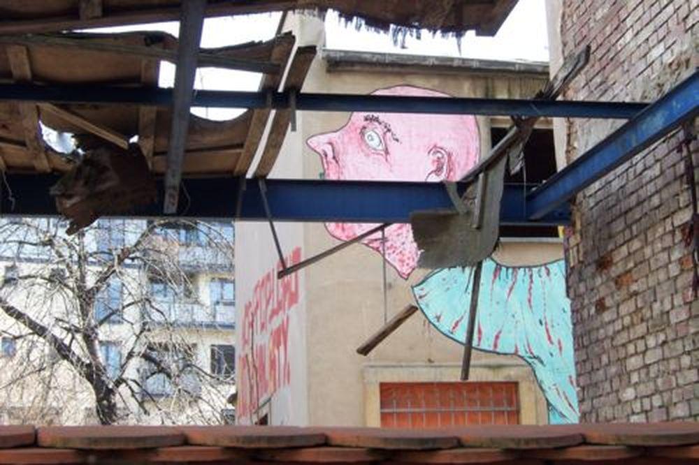 auf dem ehemaligen Bauwagen-Gelände