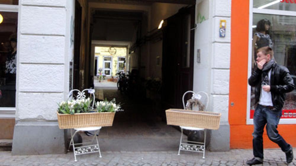 Neuer Blumenladen auf der Alaunstraße