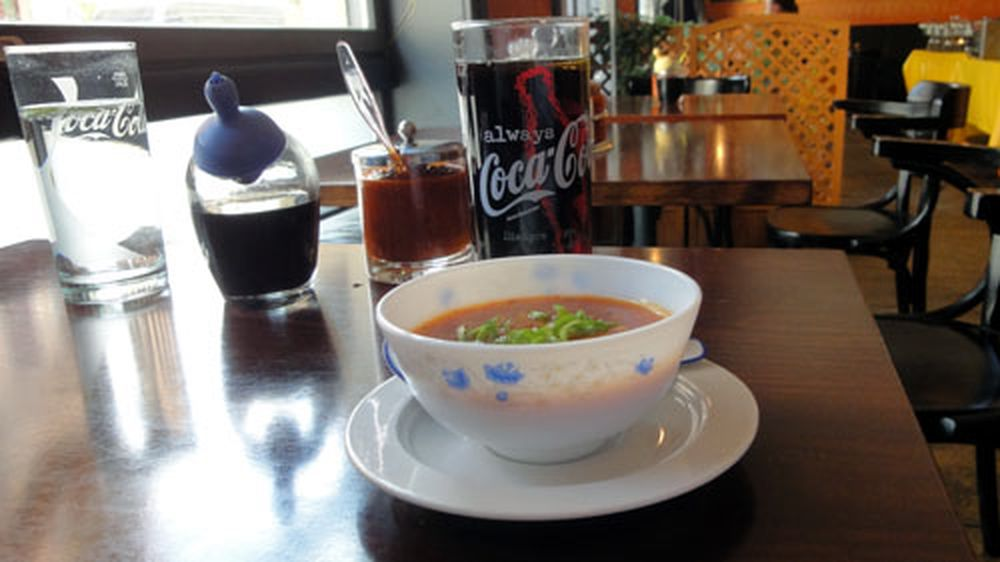 Scharfe Pekingsuppe im Hai Au