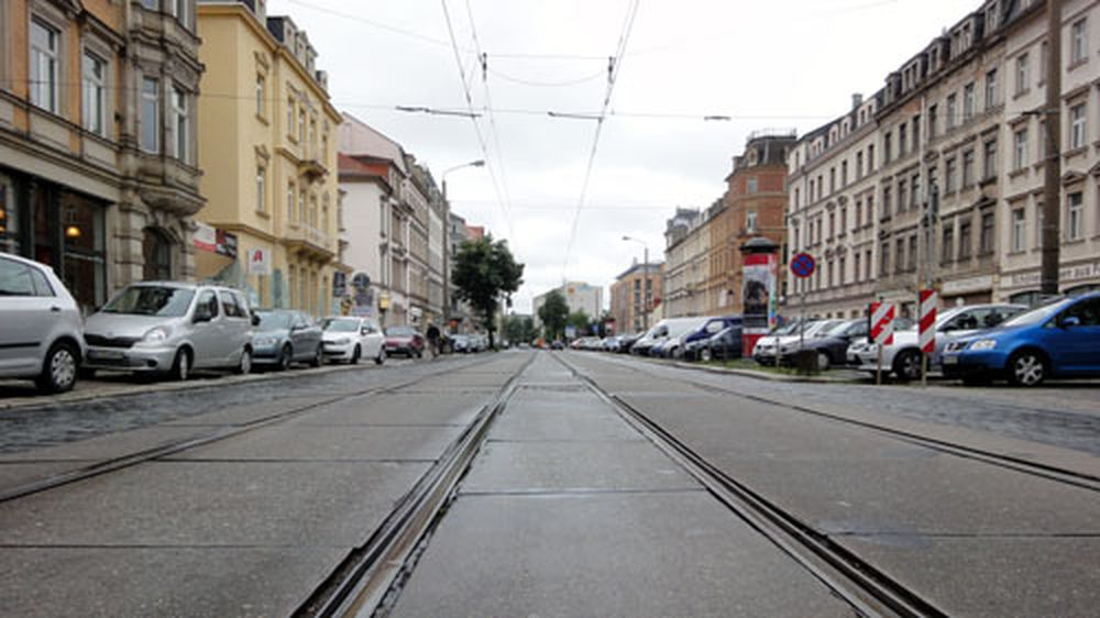 Königsbrückerstraße im Sommer 2011