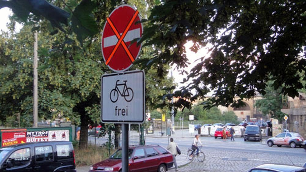 Die Ausfahrt von der Hechtstraße ist künftig verboten.