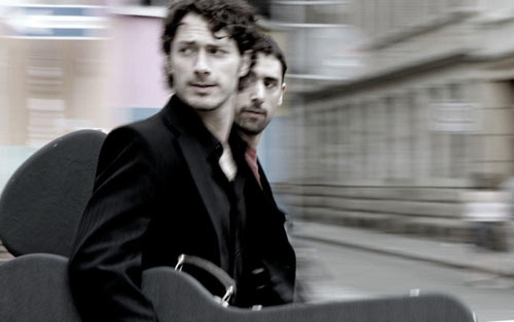 Dirks und Wirtz unterwegs (© Ch. Borchers)